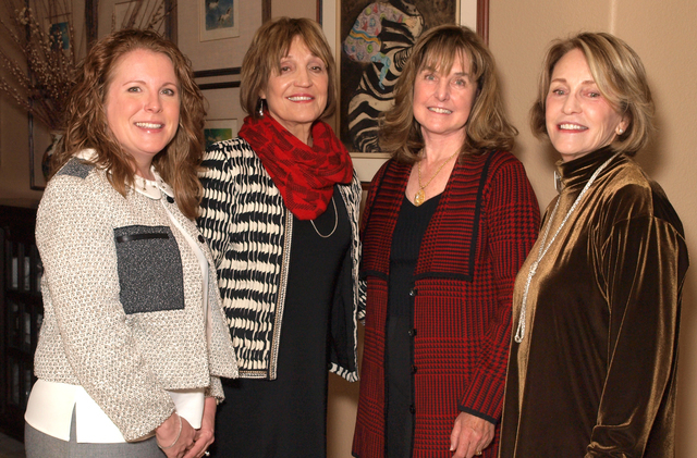 Ann Richard-Farinha, from left, Sally Rycroft, Sherry Layne and Melinda McGeorge-Johnson (Marian Umhoefer/Las Vegas Review-Journal)