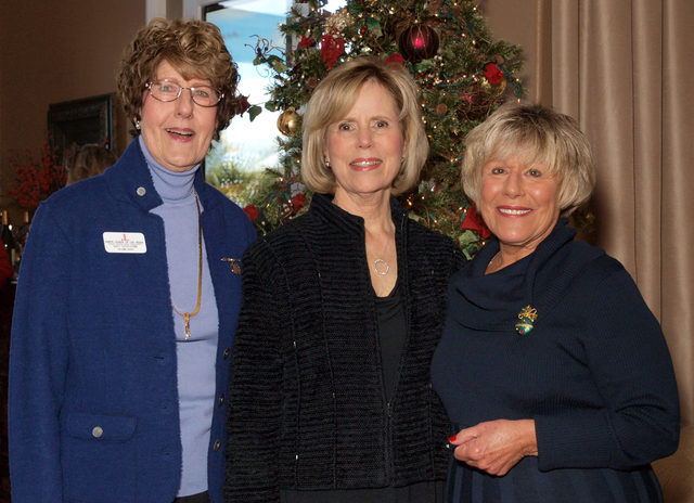 Nancy Gasho-Fromm, from left, Sherry Beatty and Sally McKinney (Marian Umhoefer/Las Vegas Review-Journal)