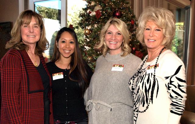 Sherry Layne, from left, Jacinda Layne, Katie Layne and Terry Crispell (Marian Umhoefer/Las Vegas Review-Journal)