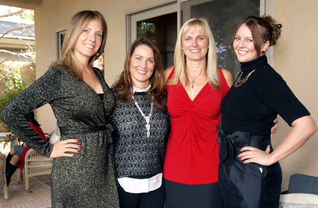 Alma Sexton, from left, Lisa Breen, Lori Smith and Sindy Baca (Marian Umhoefer/Las Vegas Review-Journal)