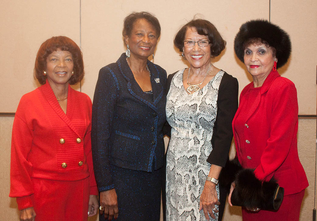 Wanda Collins, from left, Ida Gaines, Anna Bailey and Berl Warren (Courtesy Danny Titus)