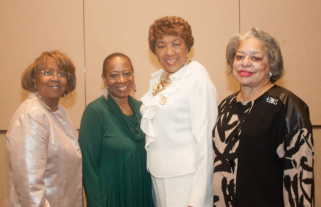 Claudette Enus, from left, Debbie Conway, E. Lavonne Lewis and Barbara Keith (Courtesy Danny Titus)
