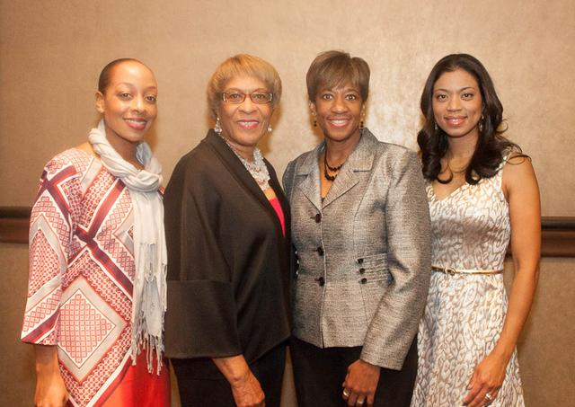 Sheena Kaufman, from left, Marie Ray Scott, Pamela Goynes Brown and Sandra Morgan (Courtesy Danny Titus)