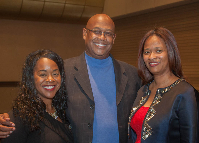 Sherill Mode Maddox, from left, Morse Arberry and Phung Jefferson (Courtesy Danny Titus)