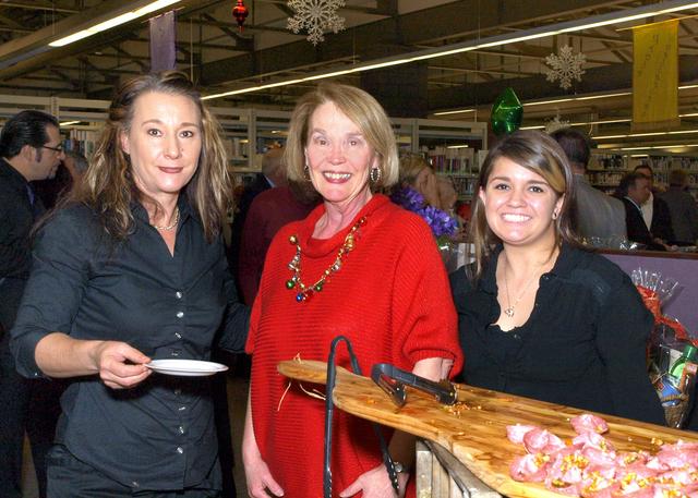 Brenda Childress, from left, Judy Pringle and Jennifer Mason (Marian Umhoefer/Las Vegas Review-Journal)