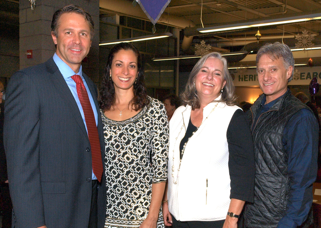 Keith Jensen, from left, Christina Paone, Laura Jane Spina and Lane Spina (Marian Umhoefer/Las Vegas Review-Journal)