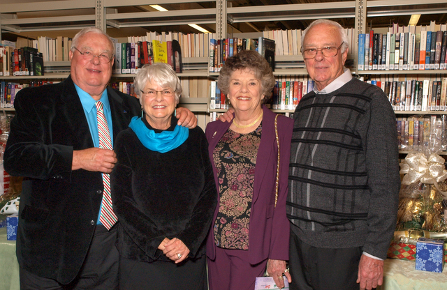 Bob and Jane Fielden, from left, and Dorothy and Danny Lee (Marian Umhoefer/Las Vegas Review-Journal)