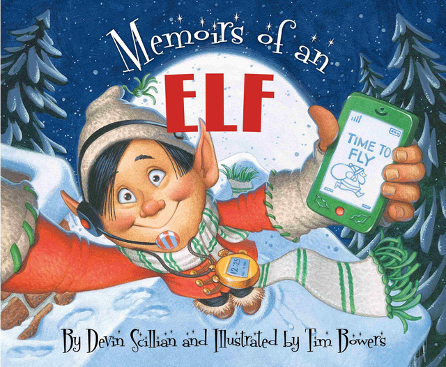 """Memoirs of an Elf"" by Devin Scillian, illustrated by Tim Bowers is serious fun for anyone. (Special to View)"
