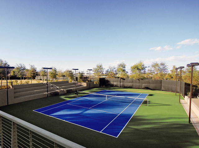 Courtesy photo  DragonRidge Country Club tennis courts.