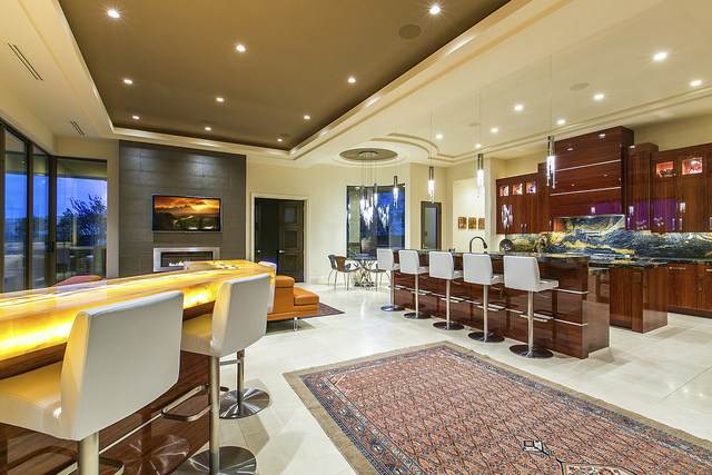 This home at 1 Drifting Shadow Way in The Ridges is 7,251 square feet and is listed with Florence Shapiro with Berkshire Hathaway HomeServices Nevada for $3.2 million. (Courtesy photo)