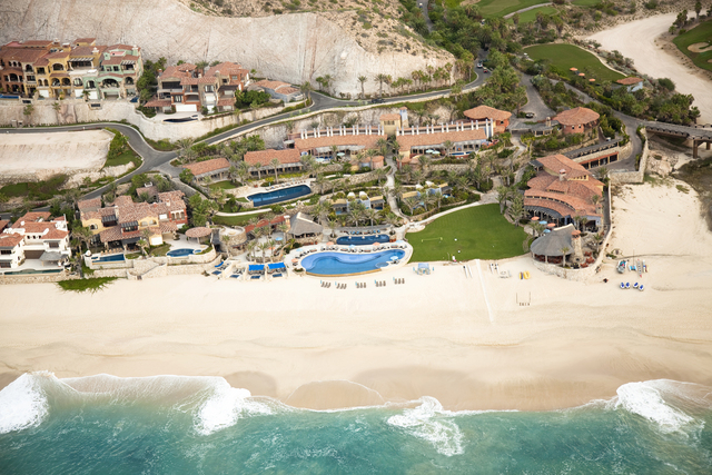 Courtesy photo  Arizona-based Discovery Land Co, has private golf communities throughout the U.S., Mexico and Bahamas. This private ocean front community, El Dorado, is in Los Cabos, Mexico.