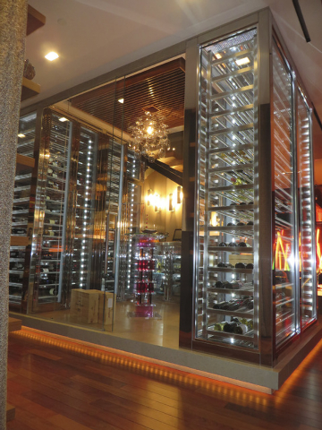Jon Sparer and his partner of more than 30 years, John Klai, commissioned a commercial company to design their wine room, which is in their 5,750-square-foot basement. Their home at 7 Stable Ridge ...