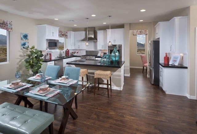 Courtesy photo Pictured is the Sierra model home's kitchen.