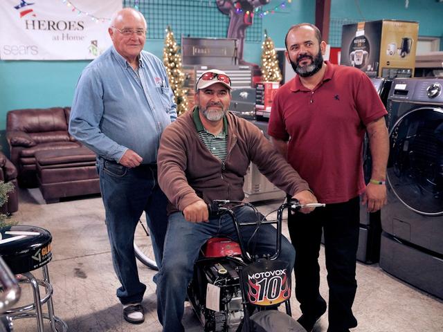 Larry Sell, Ernesto Gonzales, Eric Rodriguez (Courtesy Amelinda B Lee)