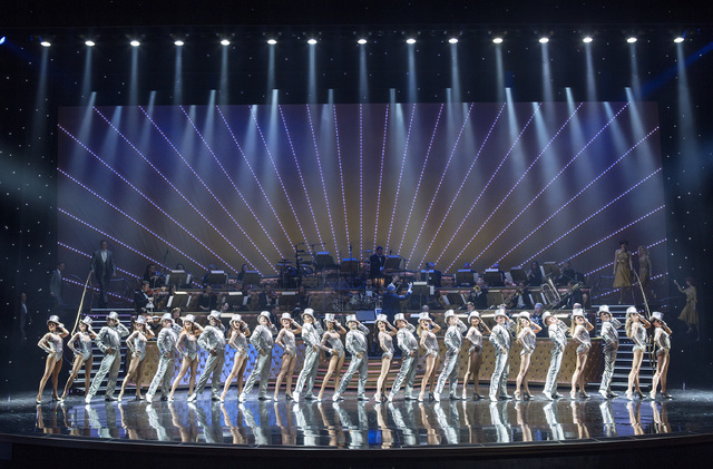 """A Chorus Line"" from ""ShowStoppers"" at Wynn Las Vegas. (Courtesy)"