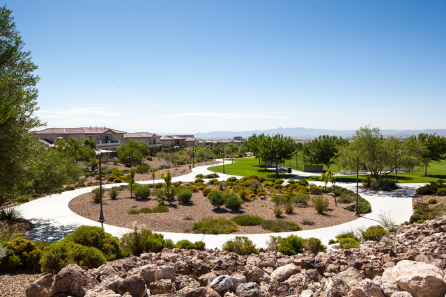 """Courtesy photo First recognized in 2002 by Money magazine for its """"new urbanist"""" design, Summerlin, with nearly 6,000 acres still yet to be developed, is once again named among the Best Places ..."""