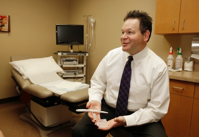 Dr. Mark Leo, operations director for Urology Specialists of Nevada, says the need for good urologic care is increasing as the valley's population grows. (Courtesy)
