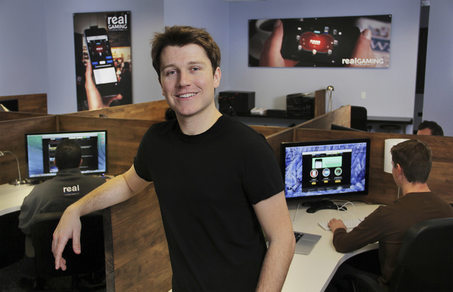 Lawrence Vaughan is co-founder of Real Gaming, an online poker site backed by the South Point. (Courtesy)