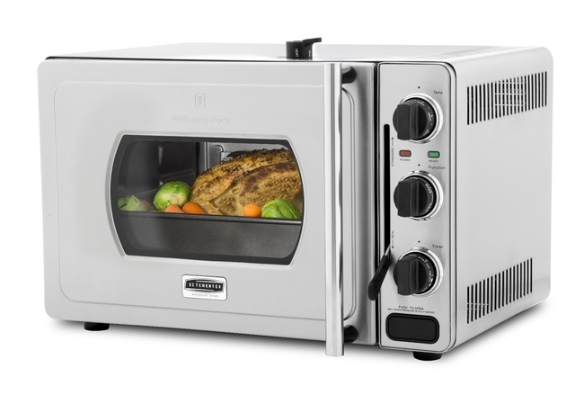 Courtesy Wolfgang Puck Oven The Wolfgang Puck Pressure Oven is a breakthrough countertop oven that combines the speed and flavor-enhancing ability of a pressure cooker with the ease of use and ver ...