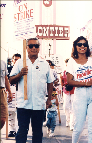 Cesar Chavez and Geoconda Arguello-Kline (Courtesy photo)