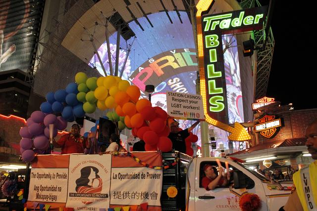 Culinary Union participates in Gay Pride parade (courtesy)