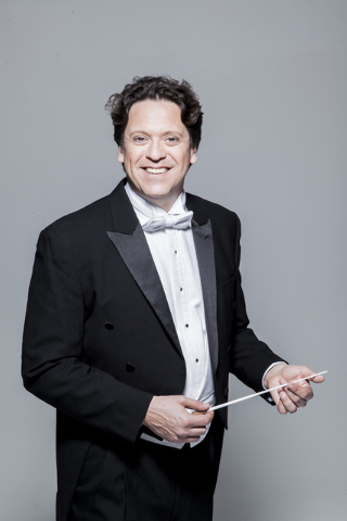 Las Vegas Philharmonic Music director Donato Cabrera will lead his first holiday pops concert Saturday at The Smith Center. Courtesy photo.