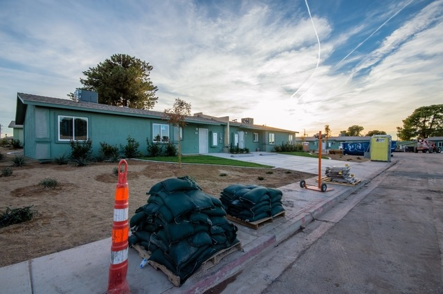 The Landsman Gardens housing complex underwent a $23.5 million remodel that began in December 2013. The construction is scheduled to be complete by Jan. 21, and a grand reopening ceremony is plann ...