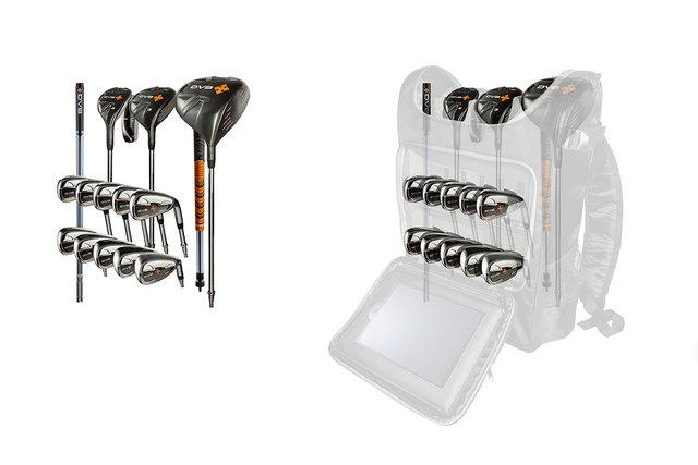 DV8 golf clubs (Courtesy)