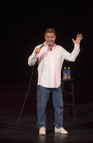 Comedian Bill Engvall performs inside the Mystere Theatre at the Treasure Island hotel-casino Friday Dec. 5, 2014. (Martin S. Fuentes/Las Vegas Review-Journal)