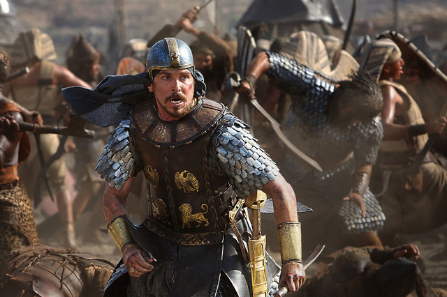 "Christian Bale stars as Moses in ""Exodus: Gods and Kings."" (Courtesy/2014 Twentieth Century Fox Film Corp.)"