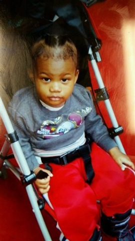 Cameron Beckford is seen in an undated photo provided by the Frederick, Md. Police Department. The mother accused of abandoning 14-month-old Cameron Beckford on the front porch of a stranger's hom ...