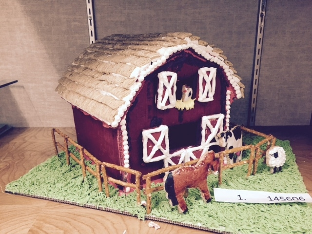 A gingerbread house created by the Northwest Career & Technical Academy's advanced culinary students is on display at the Northwest Career & Technical Academy, 8200 W. Tropical Parkway. Students ...