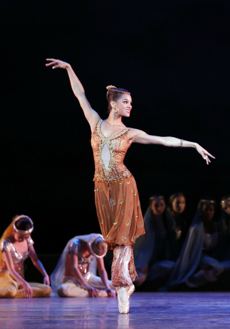 Misty Copeland dances in Le Corsaire with the American Ballet Theatre. (Marty Sohl/Special to View)