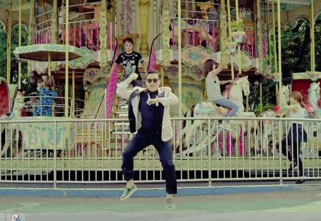 """Psy's """"Gangnam Style"""" has been viewed on YouTube more than 2.15 billion times. (officialpsy/YouTube)"""
