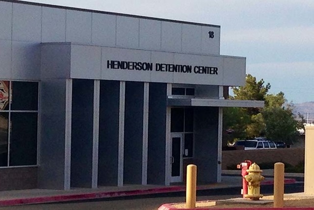 Officials say an inmate in the Henderson Detention Center was found dead Tuesday afternoon, Dec. 2, 2014, of an apparent suicide. (Las Vegas Review-Journal file)