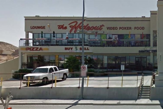 The Hideout Lounge on South Casino Drive in Laughlin is shown in this June, 2011, photo. (Courtesy, Google Streetview)