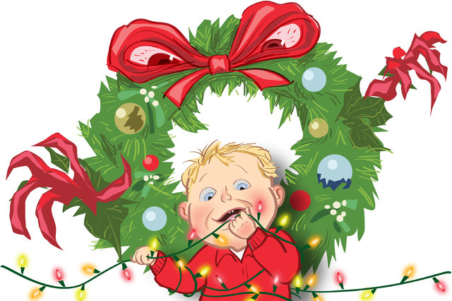 The American Academy of Pediatrics offers parents a wealth of child safety information on its website (www.healthychildren.org), including advice specific to the year-end holidays. (David Stroud/L ...