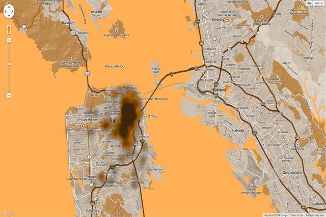 San Francisco Has A Human Poop Map Las Vegas Review Journal