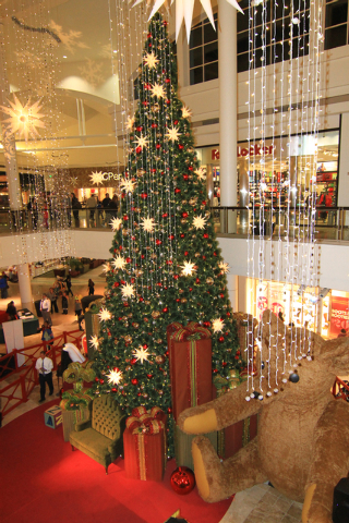 The Galleria at Sunset, 1300 W. Sunset Road, is set to offer photo opportunities with Santa and a nightly light shows through December 24. (Special to View)
