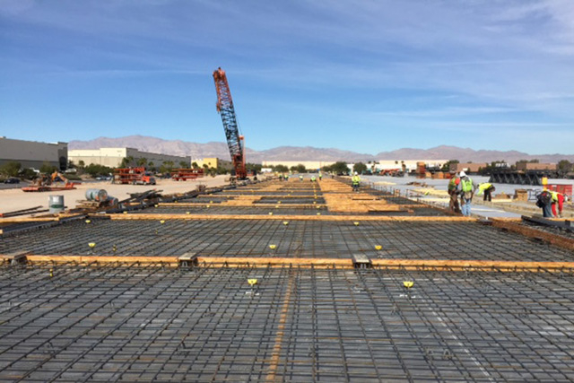 Global Industrial Distribution has signed a lease for 464,203 square feet under construction since September in North Las Vegas, according to brokers with Commerce Real Estate Solutions, part of t ...
