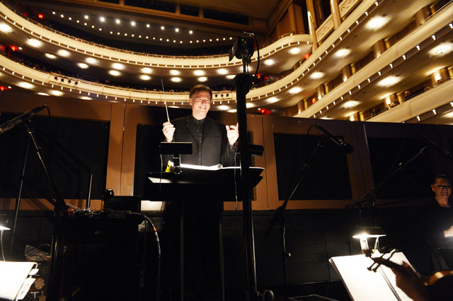 """Music director Jack Gaughan conducts """"The Nutcracker"""" at The Smith Center for the Performing Arts. All eight performances at The Smith Center will feature live accompaniment by Las Vegas Philharmo ..."""