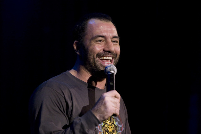 Comedian Joe Rogan performs this Friday at the Mirage. (Photo courtesy Joshua Hedges)