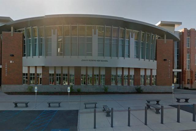 John R. Rogers High School (Google Street View)