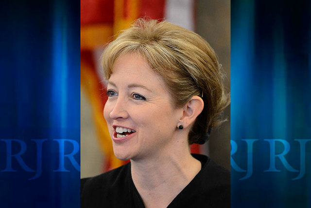 District Court Judge Linda Bell. (Las Vegas Review-Journal file)