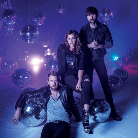 Lady Antebellum plays Friday at The D's outdoor stage. From left, Charles Kelley, Hillary Scott, Dave Haywood. (Courtesy)
