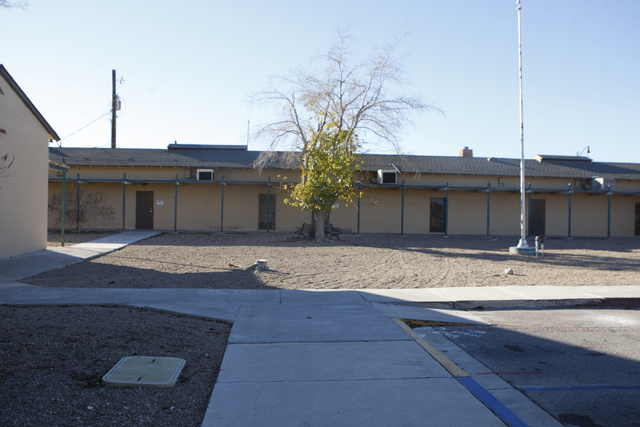 The Westside Grammar School, 330 W. Washington Ave., in Las Vegas is seen on Tuesday, Dec. 23, 2014. Las Vegas leaders have secured financing for a long-planned $15 million overhaul at the Westsid ...