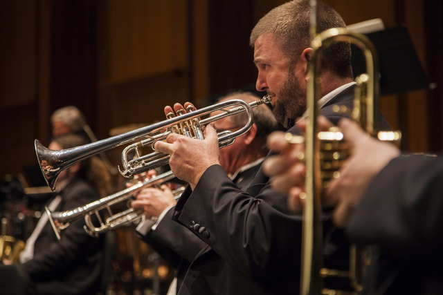 """Members of the Las Vegas Philharmonic will play Saturday at The Smith Center during the orchestra's """"Fa La La Las Vegas"""" pops concert. (Courtesy photo)"""
