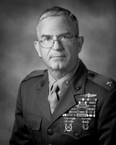 Retired U.S. Marine Maj. Steve Lowery, 64, is shown in this handout photo dated December 2010. Lowery - who retired from the military 21 years ago - updated his military portrait as part of his SA ...