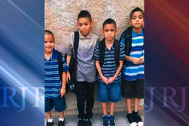Authorities in California are searching for Daniel and Erica Perez, a couple with a troubled and violent marriage, and their four sons, Jordan, 11, Jaiden, 9, Tristan, 8, and Alex, 6. The Perez fa ...