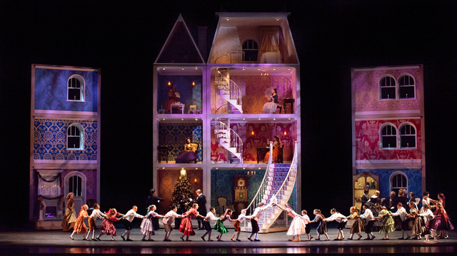 """Nevada Ballet Theatre's """"The Nutcracker,"""" which returns to The Smith Center Saturday for an eight-performance run. Courtesy photo."""